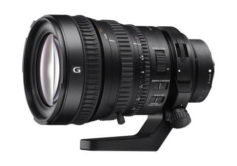 Sony presenta el primer objetivo de fotograma completo de 35 mm con zoom motorizado