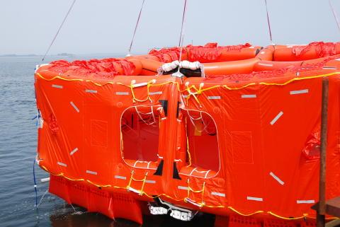 MES-systemet - Marine Evacuation System