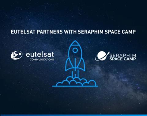 Współpraca Eutelsat z Seraphim Space Camp, pierwszym akceleratorem dla start-upów w dziedzinie technologii kosmicznej na rynku brytyjskim