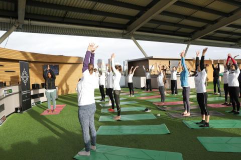 Yoga, Active London, Oval