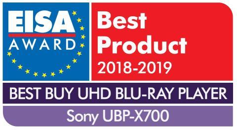 EISA Award Logo Sony UBP-X700