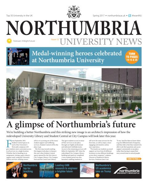 Northumbria University News Issue 12