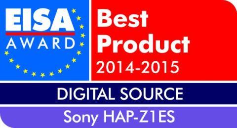 EISA Award 2014_HAP-Z1ES de Sony
