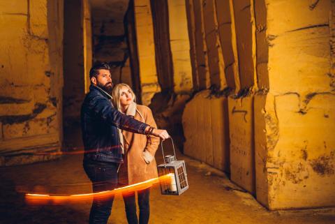 Bijzondere beelden van mystiek mijnennetwerk in Maastricht vrijgegeven