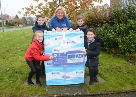 Stewarton pupils get a lesson with fibre broadband