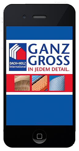 Messe App DACH + HOLZ 2016