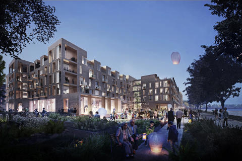 STRABAG subsidiary ZÜBLIN A/S building new Sølund residential and retirement centre in Copenhagen