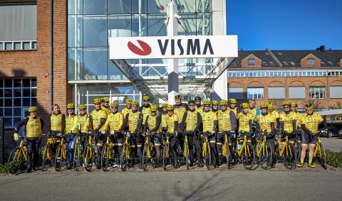 Stort sponsorat til Team Rynkeby