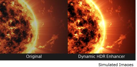 Dynamic HDR Enhancer von Sony
