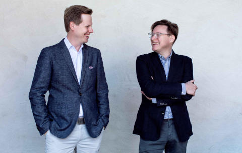 Andreas Bergman och Mattias Utterström