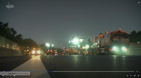 STRABAG realisiert Blitz-Baustelle auf der BAB 2 pünktlich und erfolgreich
