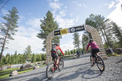 Utvikler enda flere sykkelparker