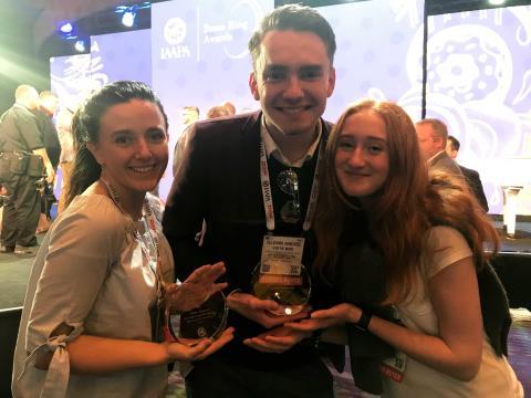 Skånes Djurpark tog hem priser i prestigefull internationell tävling