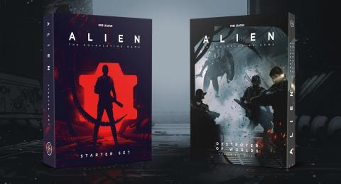 Free League Announces Starter Set and New Cinematic Scenario for the ALIEN RPG - Now On Pre-Order