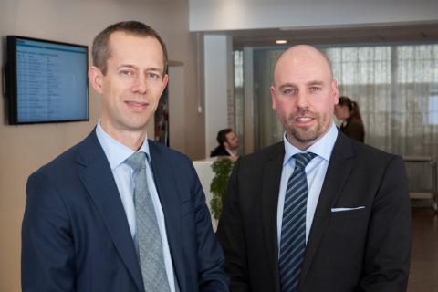 Henrik Nilsson, Deloitte och Karl Steiner, SEB