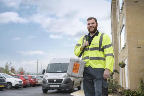 Engineer with van (2)
