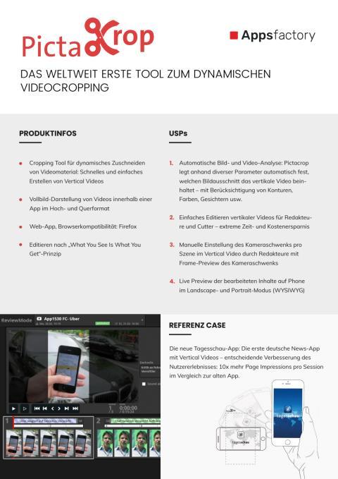 Factsheet Pictacrop