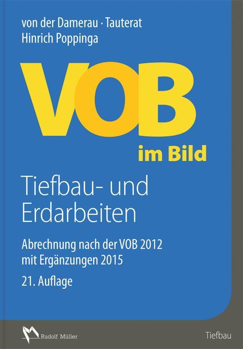VOB im Bild – Tiefbau- und Erdarbeiten, 21. Auflage 2D (tif)