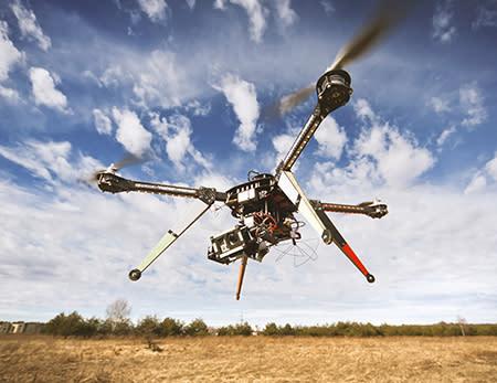Cutting-edge drones put to the temperature test