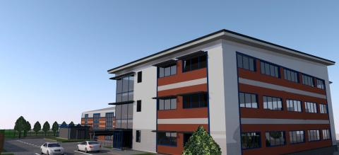 Suffolk-based Fred. Olsen companies confirm extension to Fred. Olsen House in Whitehouse estate in Ipswich, Suffolk