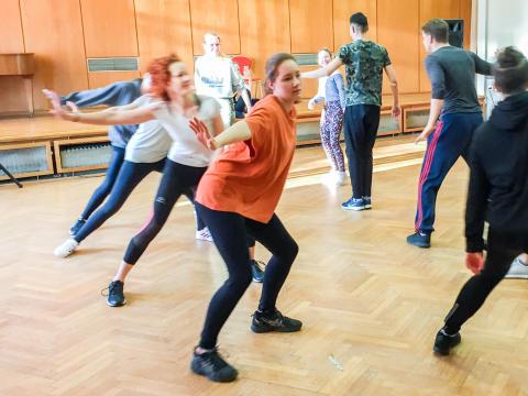Tanz-Projekt für Hörende und Gehörlose