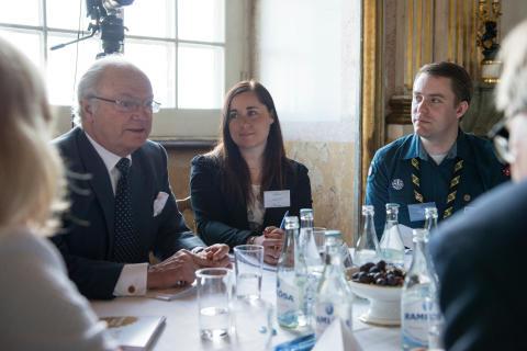 Kungligt seminarium för ungt ledarskap arrangeras i Luleå