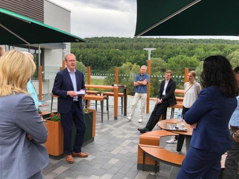 """Besuch von CDU-Bundestagsabgeordneten - BdS-Präsidiumsmitglied Peter Bohnet berichtet im Interview mit """"Main-Echo"""""""