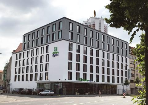 STRABAG Real Estate, ZÜBLIN, Hotel HolidayInn Express, Leipzig