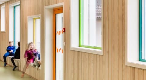 Spetalen skola i Norge, LINK arkitektur