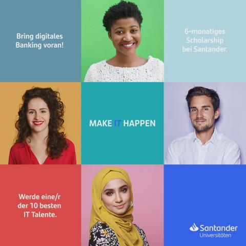 Mit Santander Universitäten in die digitale Zukunft