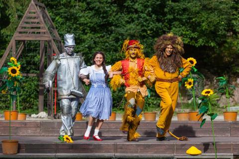 """Naturtheater Greifensteine bezaubert auch 2019 wieder mit dem Stück """"Der Zauberer von Oz""""von Thomas Birkmeir"""