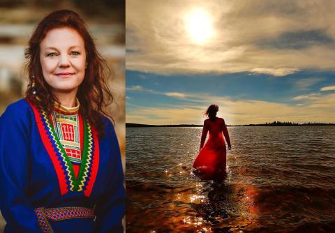 """""""Iellemij – To Life"""" en ny stjärna är född på Sápmis gnistrande himmel, av Elin Teilus"""
