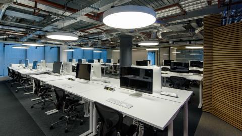 Visa Innovation Center Screens