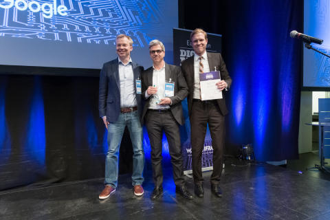 Preisverleihung European Digital Media Awards 2017