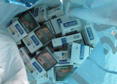 Op Brut cigarettes seized by HMRC in Merseyside 2