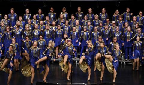 Rönninge Show Chorus satsar mot VM-guld med blågul show