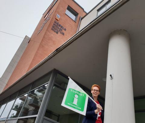 Turistinformation på tolv platser  i Hässleholms kommun