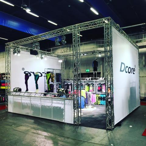 Dcore, monter Stockholmsmässan 2015