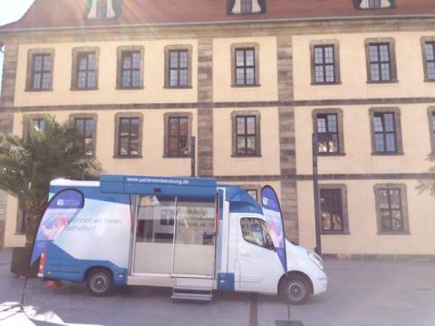Beratungsmobil der Unabhängigen Patientenberatung kommt am 21. Mai nach Fulda.