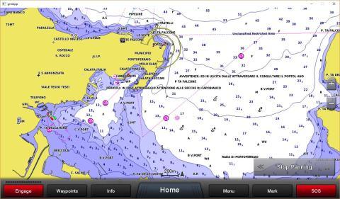 BlueChart G3 Seekarte