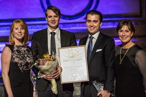 Hamdija Jusufagic är Årets Företagare i Sverige 2013