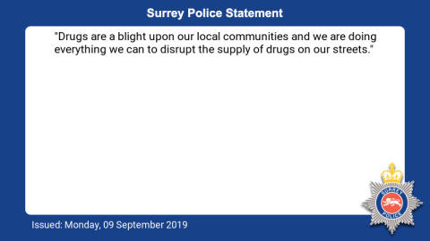Two men convicted for county lines drug dealing in Dorking