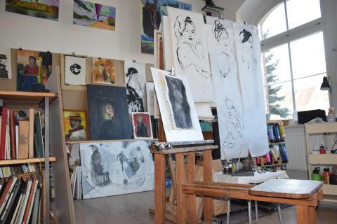Künstler und Kunsthandwerker öffnen ihre Türen
