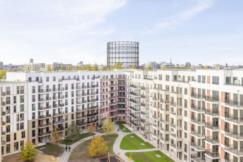 Südkreuz urban development in Berlin: ZÜBLIN completes residential complex along with office and commercial building