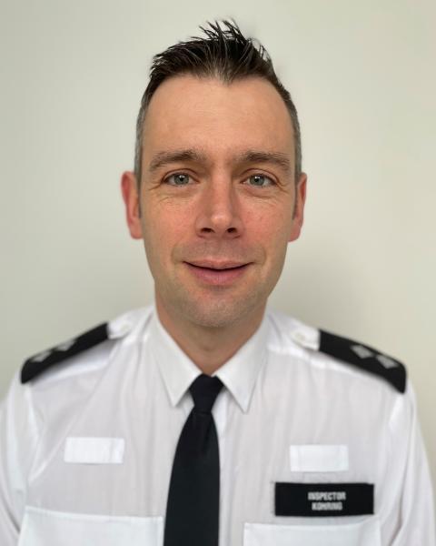 Inspector Stuart Kohring