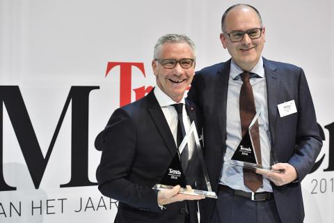 De titel van Manager van het Jaar, een mediaboost voor de CEO's van Ageas en Belfius