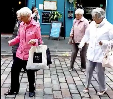 """""""Glasgow grannies"""" want to dance their way to new Community Centre"""