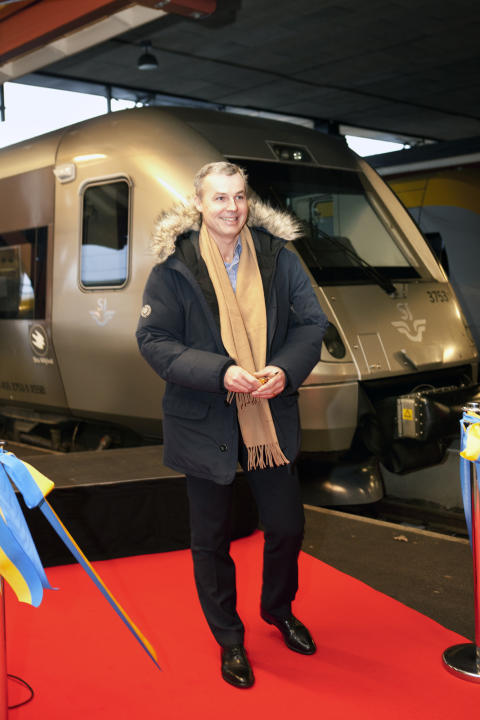 SJ startar trafik Göteborg-Malmö med nya snabbtåget SJ 3000