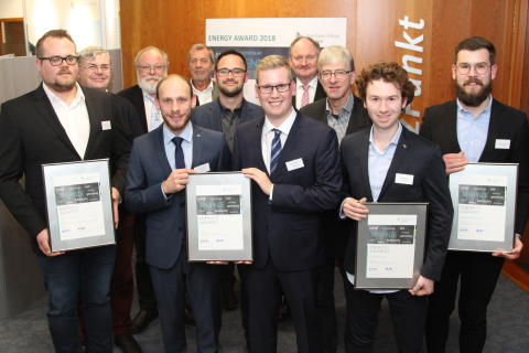 Uni PB vier Preisträger 2018