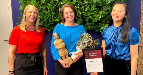 Lillian Røstad vinner ODA Award Woman